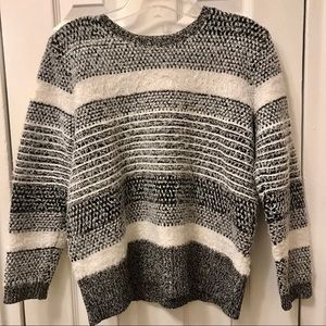 Style & Co Small Fuzzy Sweater